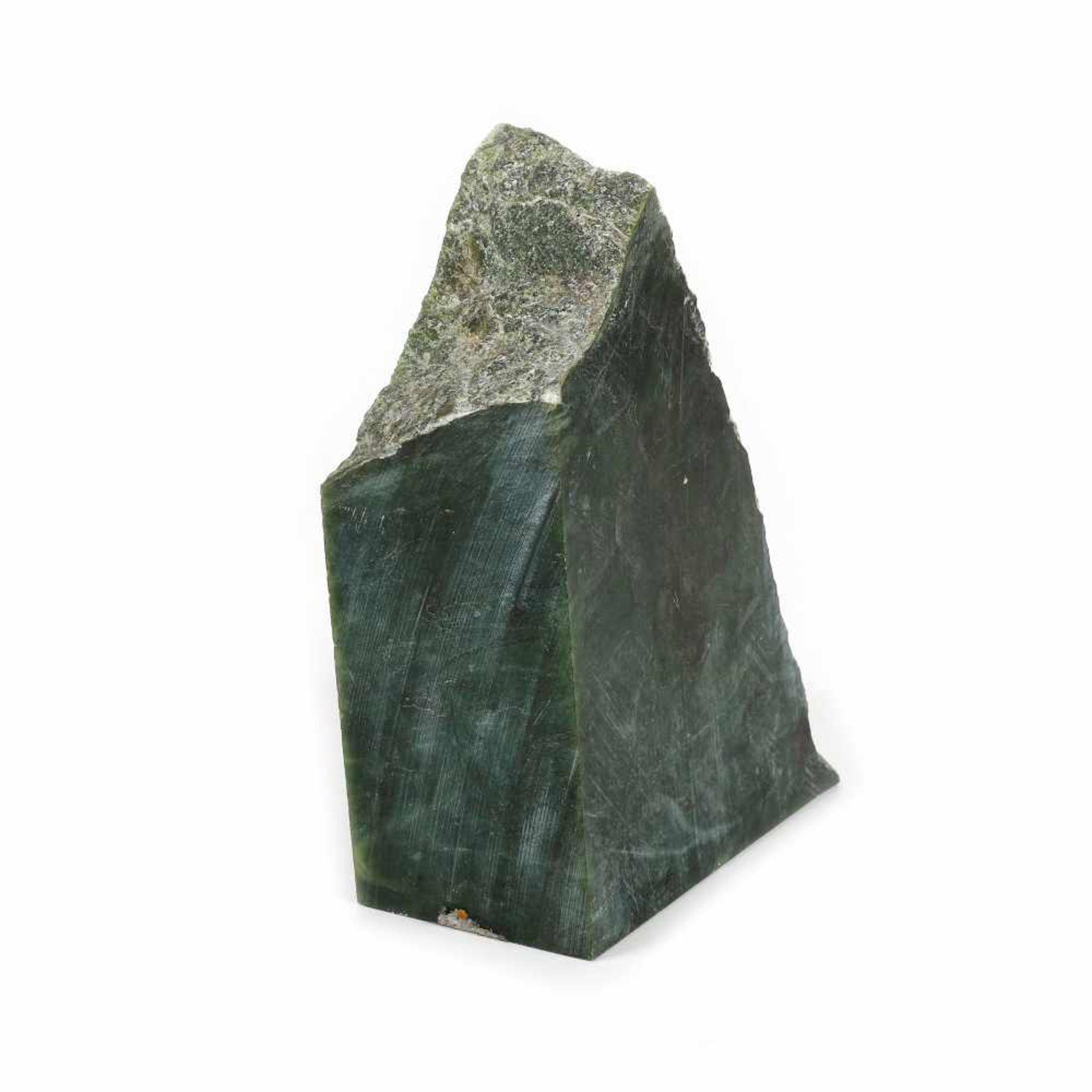 Unprocessed nephrite (jade) fragment - Bild 2 aus 2