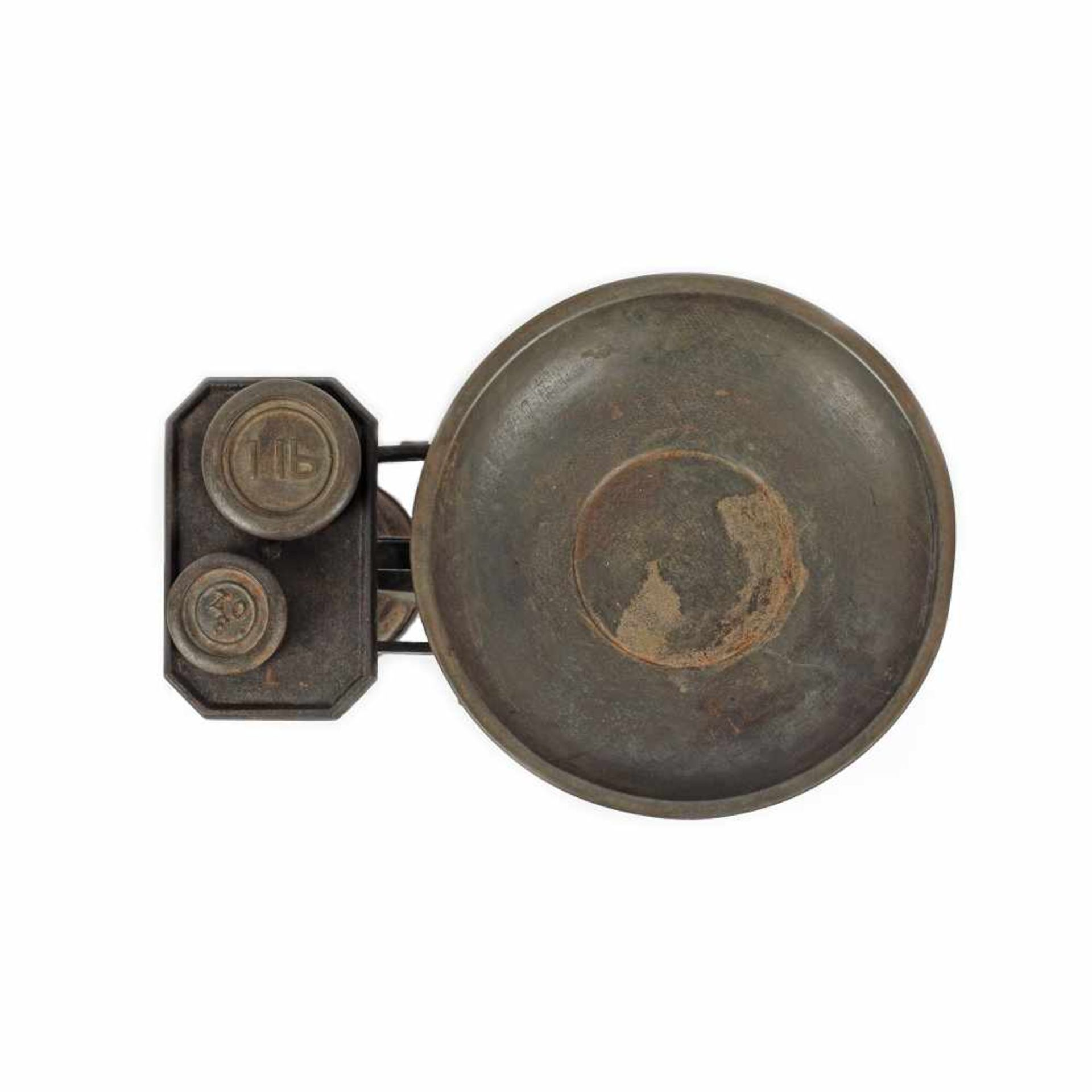 Bronze scale, S. Banfield Brighton brand, Great Britain, early 20th century - Bild 2 aus 3