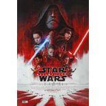 Poster for the movie Star Wars - Ultimii Jedi (The Last Jedi)