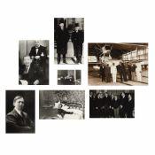 Seven photos illustrating Nicolae Titulescu, approx. 1940