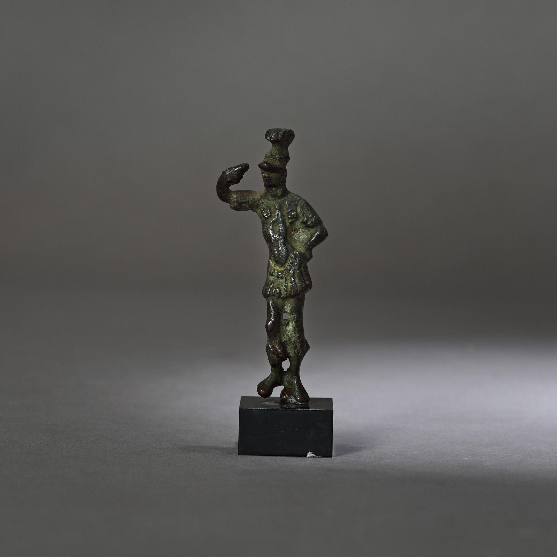 Bronze statuette depicting the god Mars, 2nd-1st century B.C.