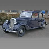 Mercedes 170 V, 1940, the most popular Mercedes-Benz model of the time