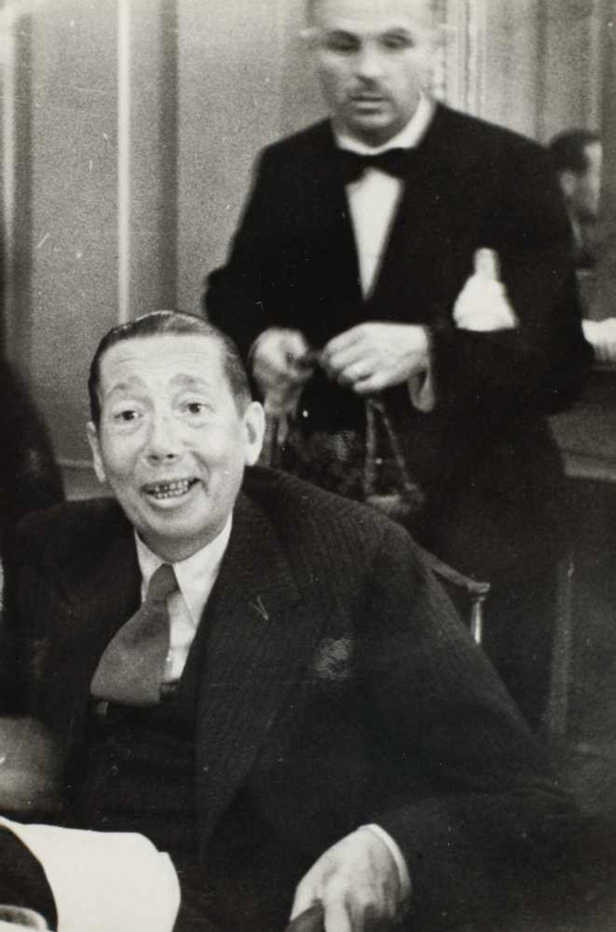 Seven photos illustrating Nicolae Titulescu, approx. 1940 - Bild 3 aus 8