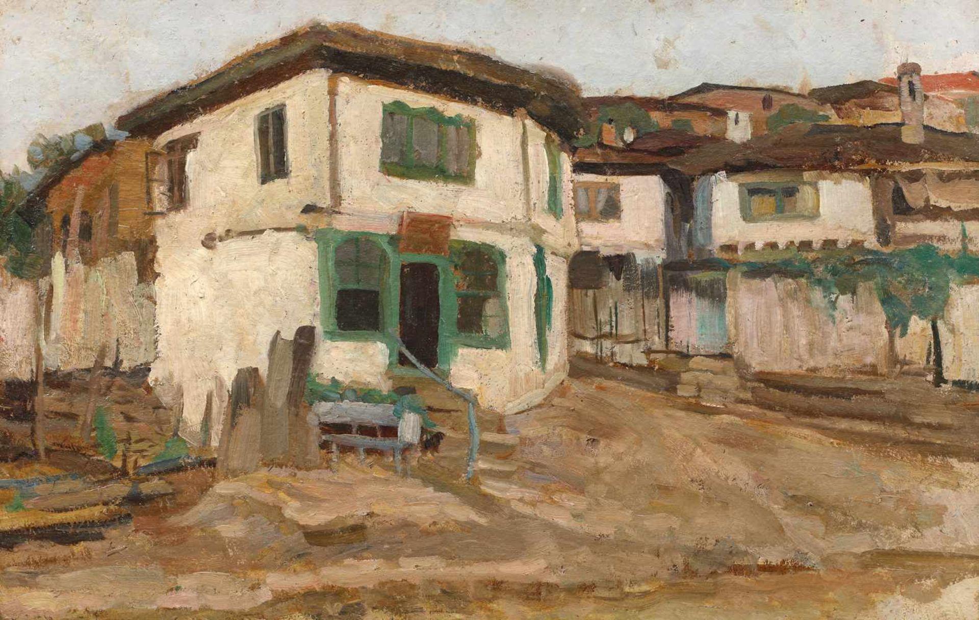 Cecilia Cuţescu Storck, Balchik Landscape