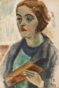 Catul Bogdan, Portrait of a Young Woman