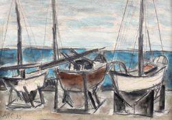 Henri H. Catargi, Boats in the Port