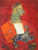 Wanda Sachelarie-Vladimirescu, Pyramid Portrait (Costin Ioanid)