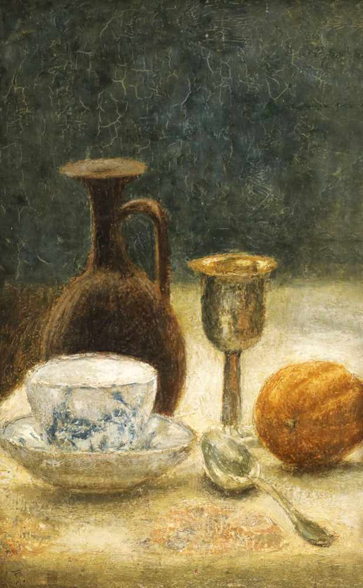 Theodor Pallady, Still Life with Porcelain Cup
