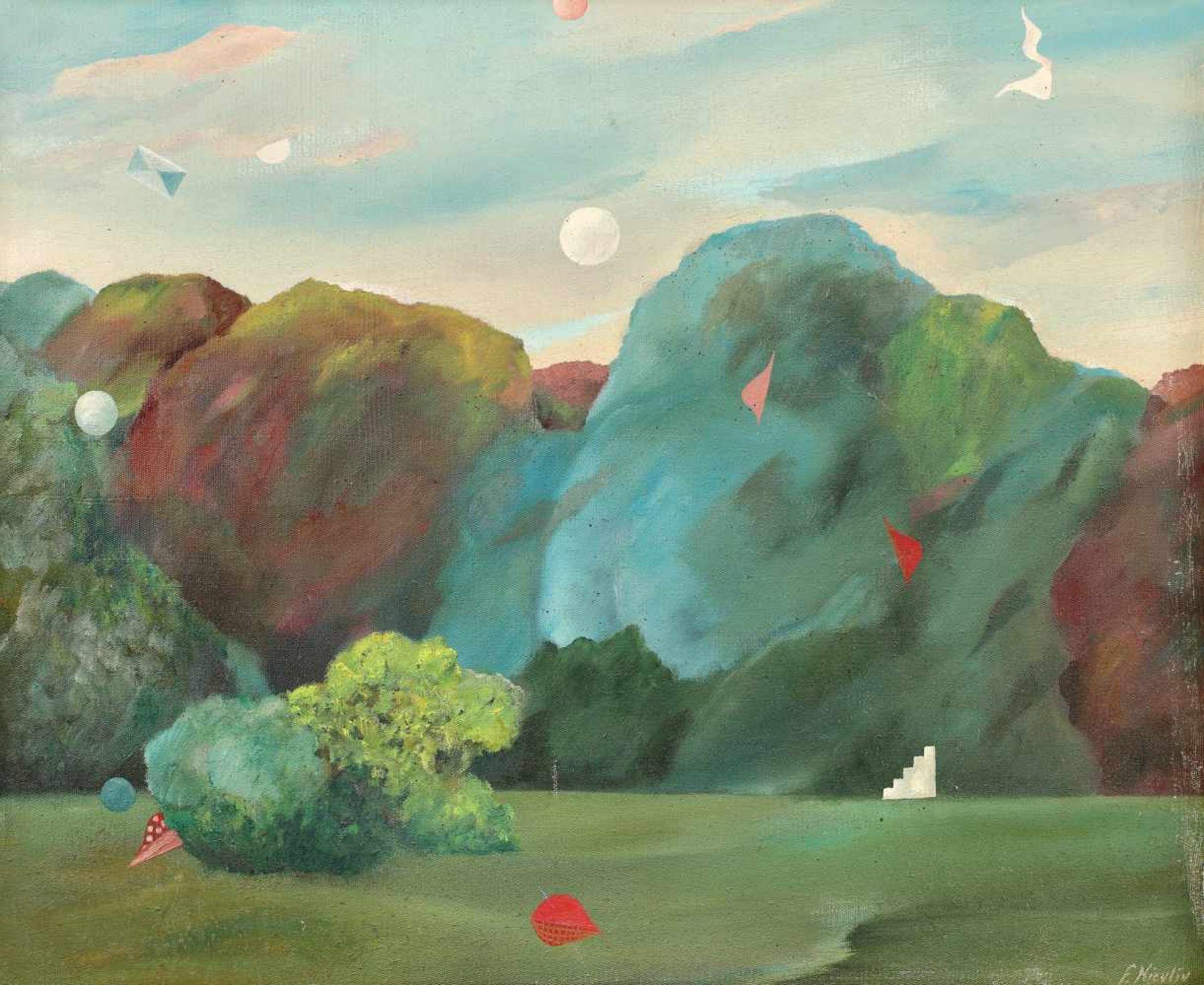 Florin Niculiu, Summer Landscape