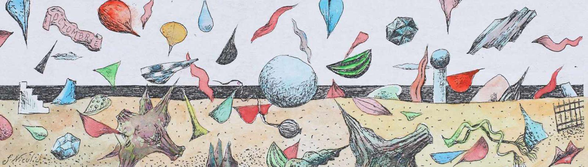 Florin Niculiu, Surreal Composition