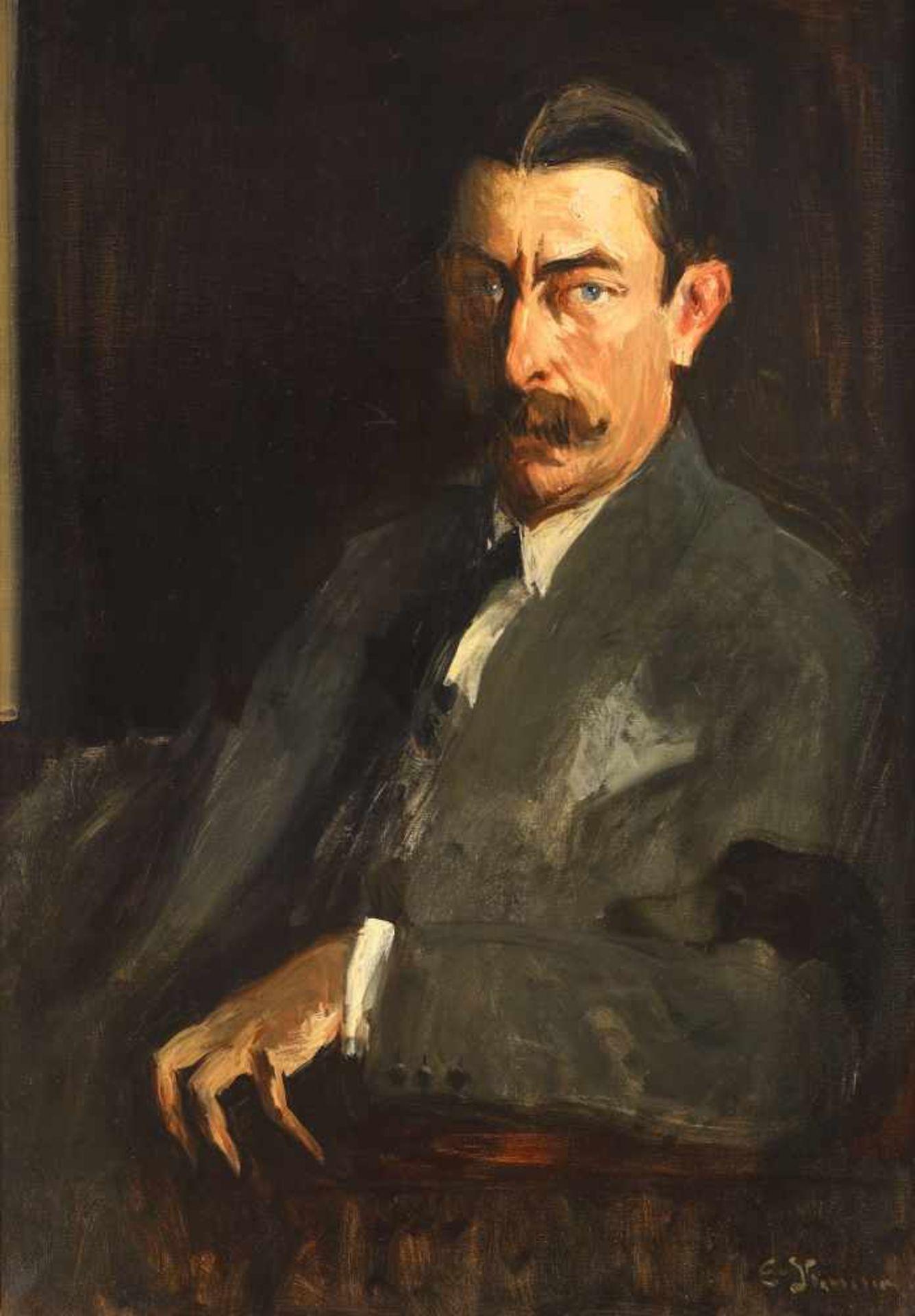 Eustaţiu Stoenescu, The portrait of Ambassador Ioan Aurel Vasiliu