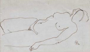 Vincenţiu Grigorescu, Nude Study