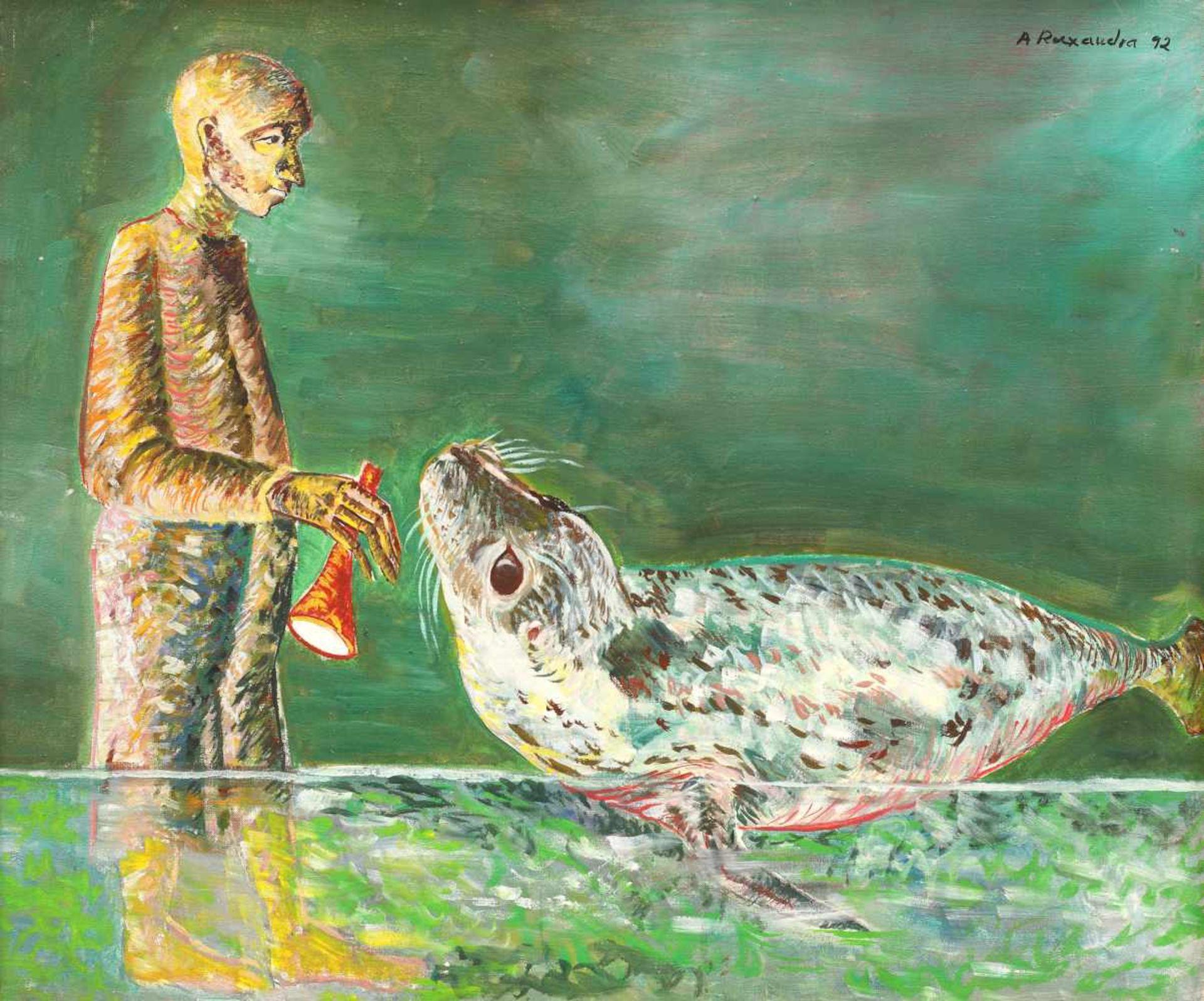 Ana Ruxandra Ilfoveanu, The Musician and the Sea Lion