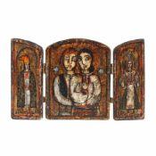 Folkloric triptych