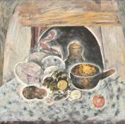 Petru Lucaci, Still Life with Fruits