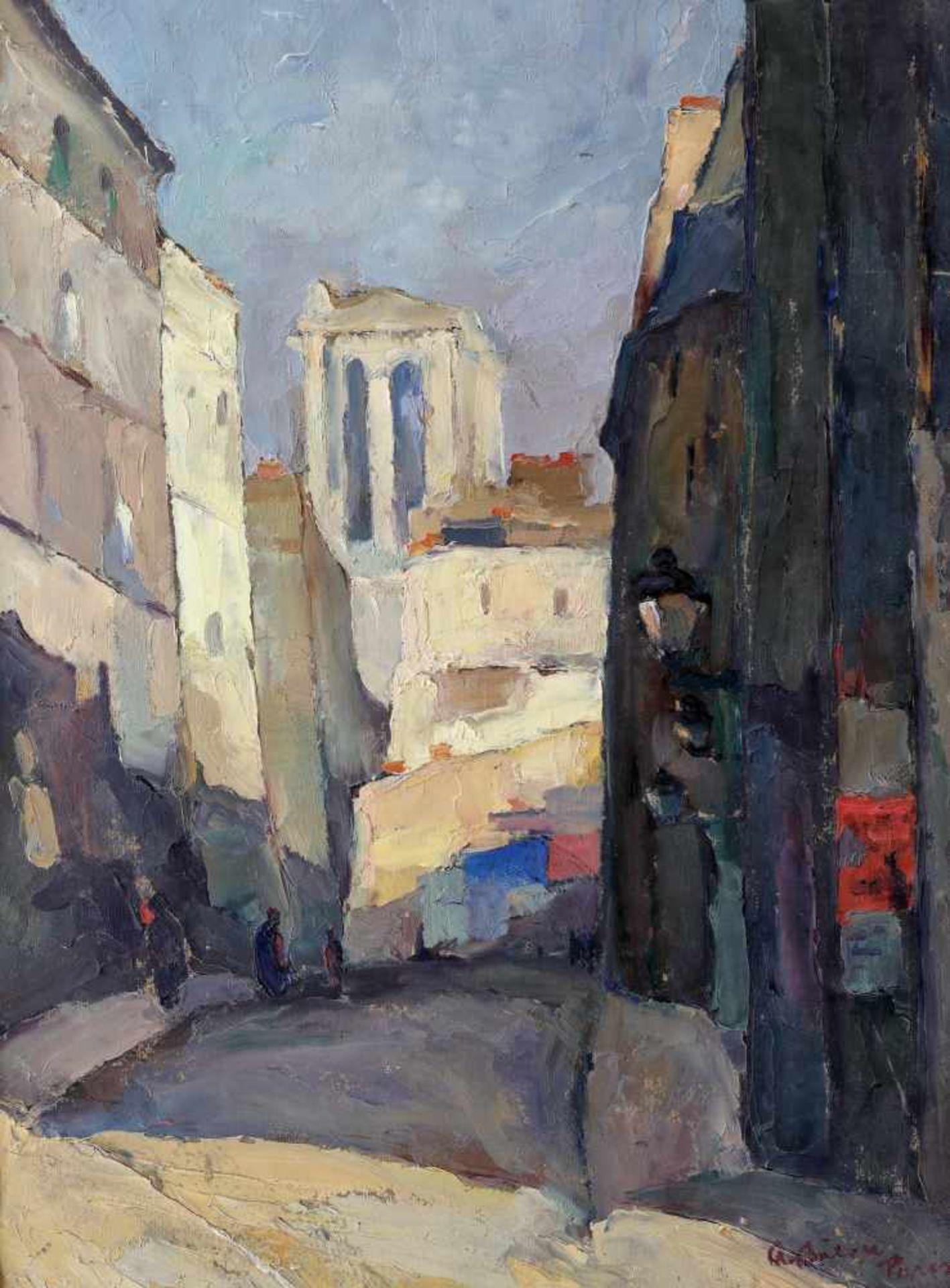 Aurel Băeşu, Paris Street