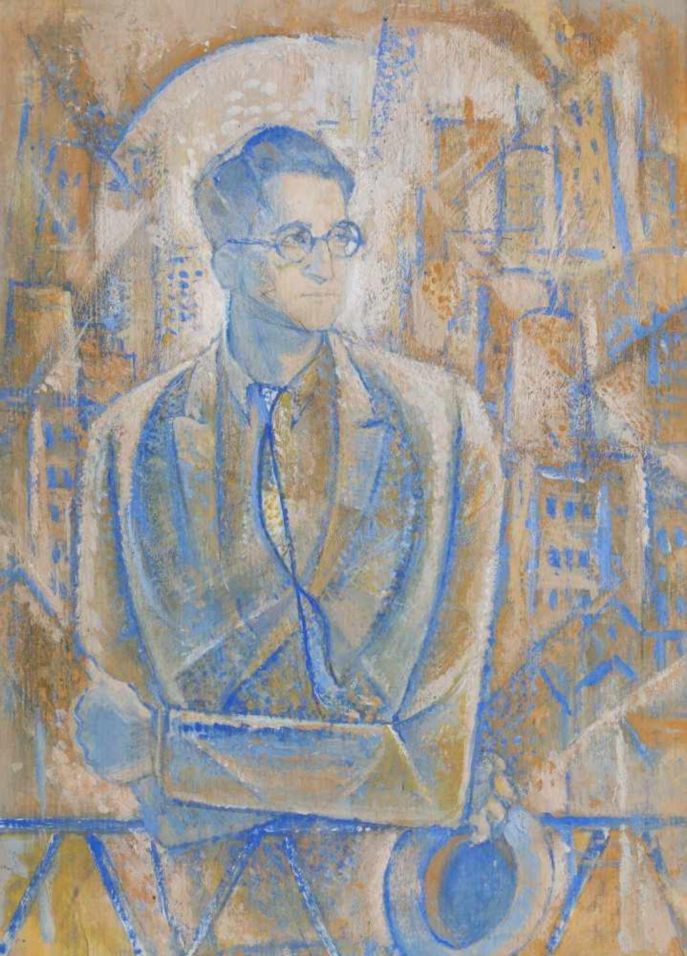 Titina Călugăru Căpitănescu, The Portrait of the Writer Alexandru Sahia