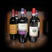 Chianti Classico, Italian wine collection, 1998/2001/2004, 7b x 0.75l