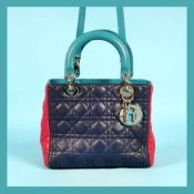 """Lady Dior"" - Dior bag, leather, three colours"