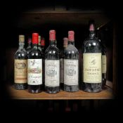 Bordeaux wine selection, 1975/1976/1977/1985/1993/2003, 11b x 0.75l, 2b x 1.5l