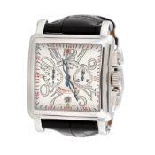 Franck Muller Conquistador Cortez Chronograph wristwatch, men, accompanied by certificate of authen