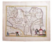 [Map of Tartary or Empire of Khan. Russian]. Tartaria sive Magni chami imperium / Johan Blaeu.