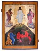 "Russian icon ""The transfiguration of Christ"". - 18th century. - 89x67 cm."