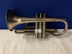 A BOSSON AND CO TRUMPET