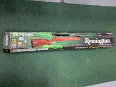 A BOXED REMINGTON EXPRESS .177 CALIBER AIR RIFLE