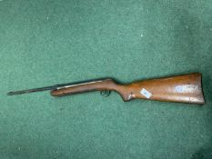 A VINTAGE AIR RIFLE