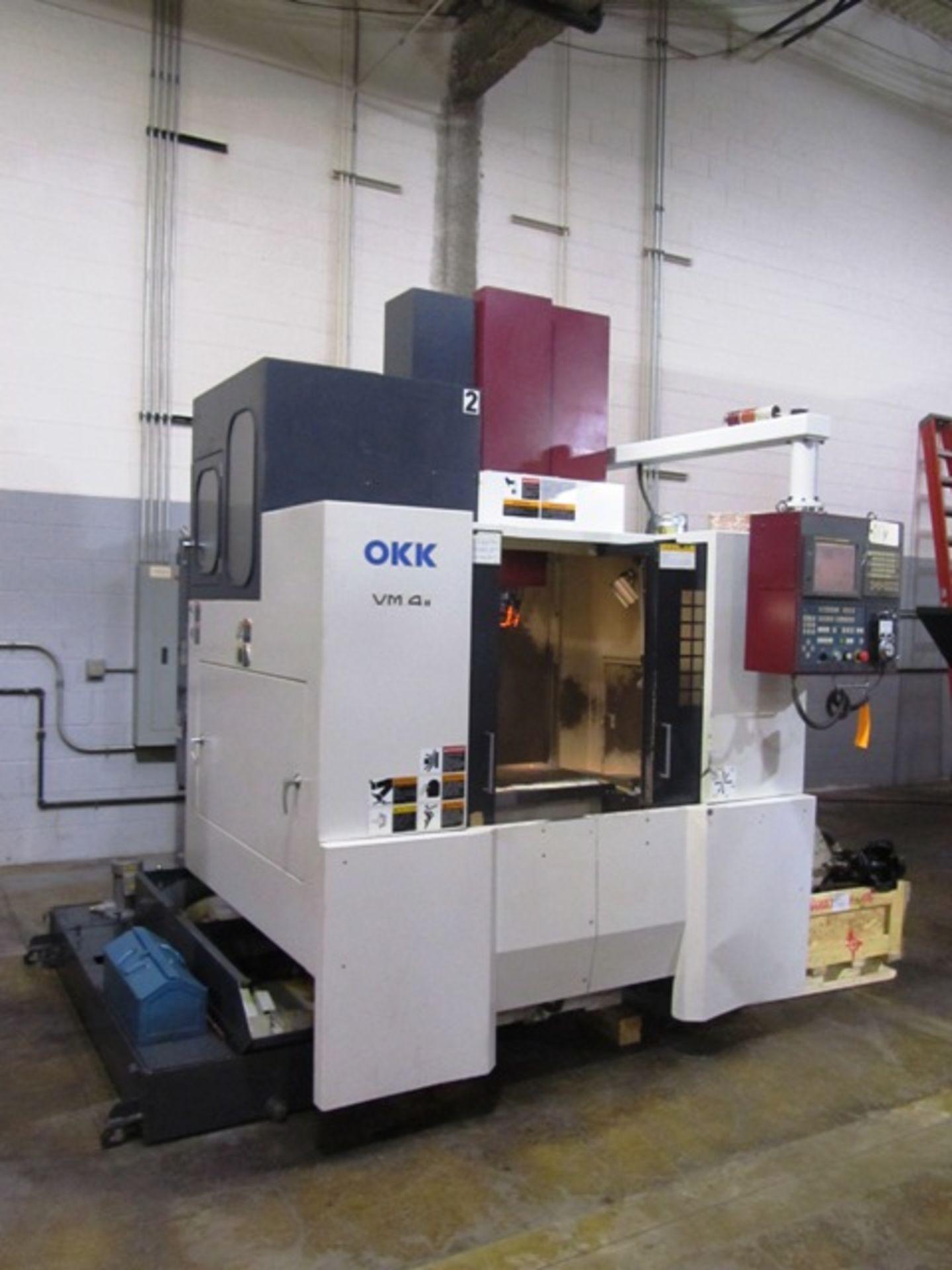 Lot 4 - OKK VM 4II CNC Vertical Machining Center