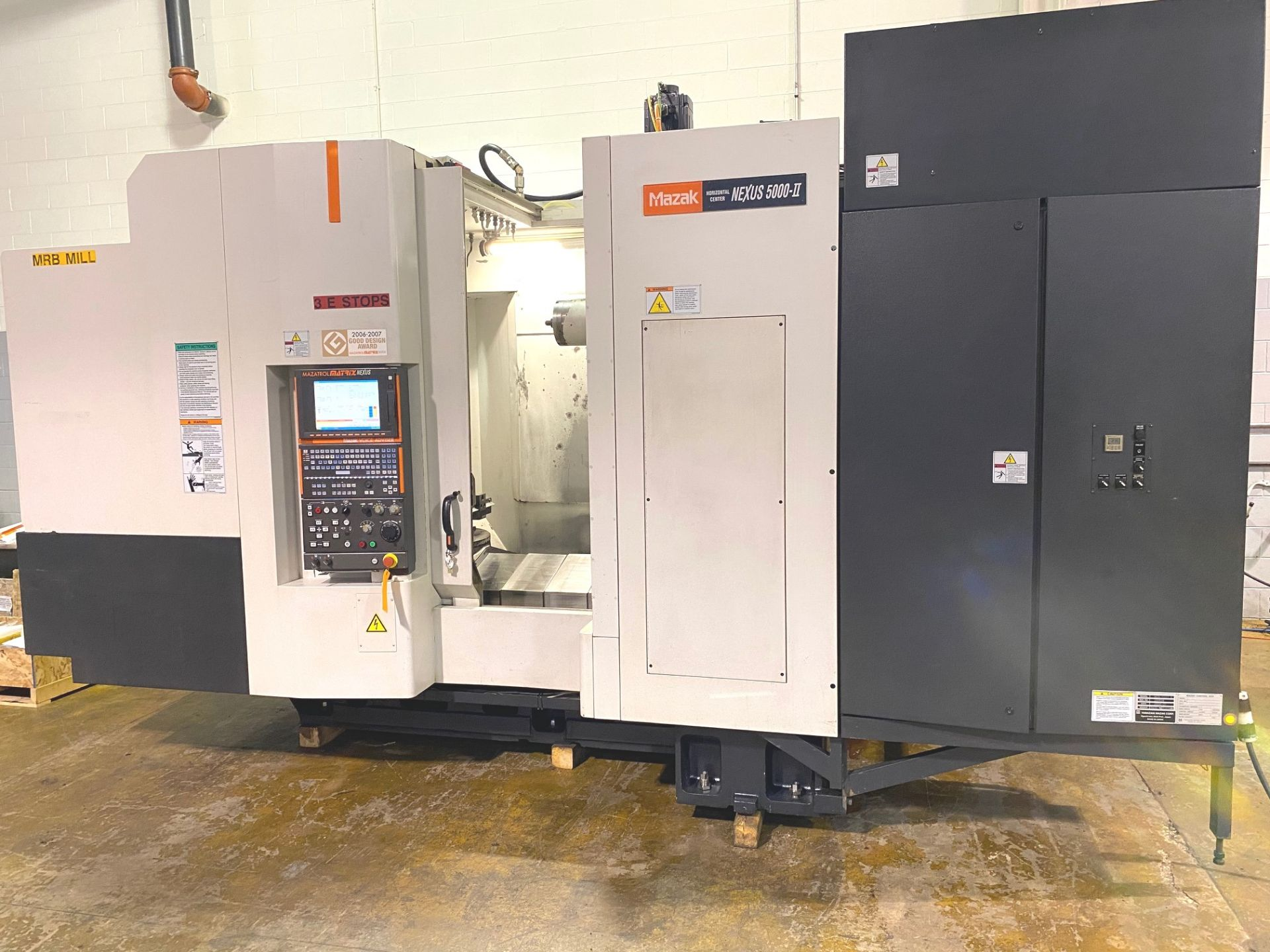 Lot 32 - Mazak Nexus HCN 5000 II CNC Horizontal Machining Center