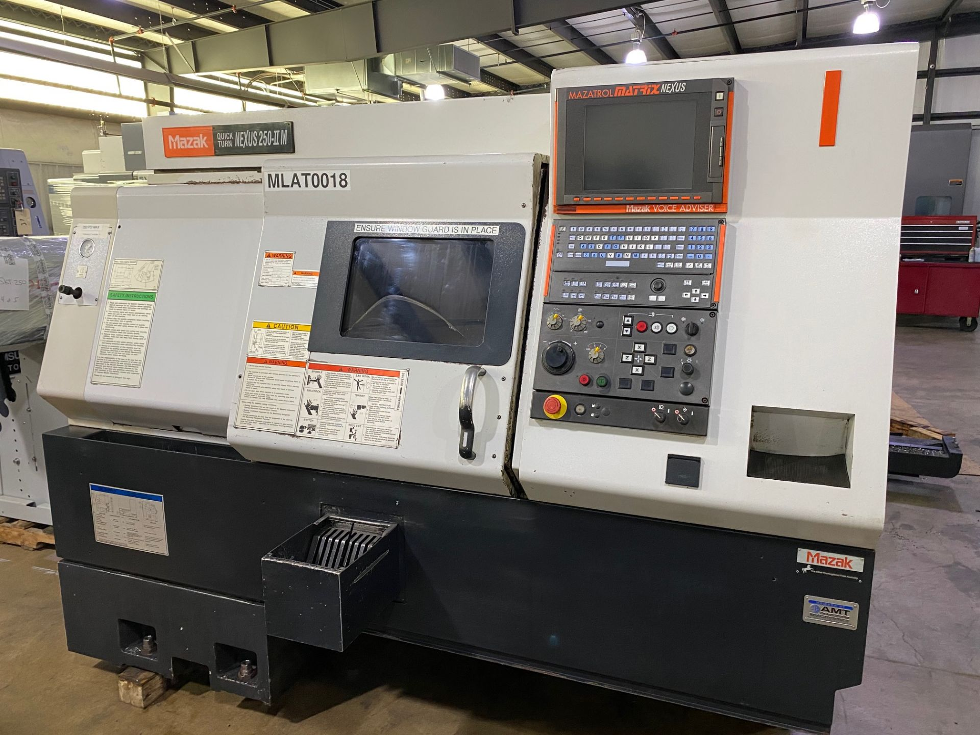 Lot 33 - Mazak Nexus QTN 250II-M CNC Turning Center