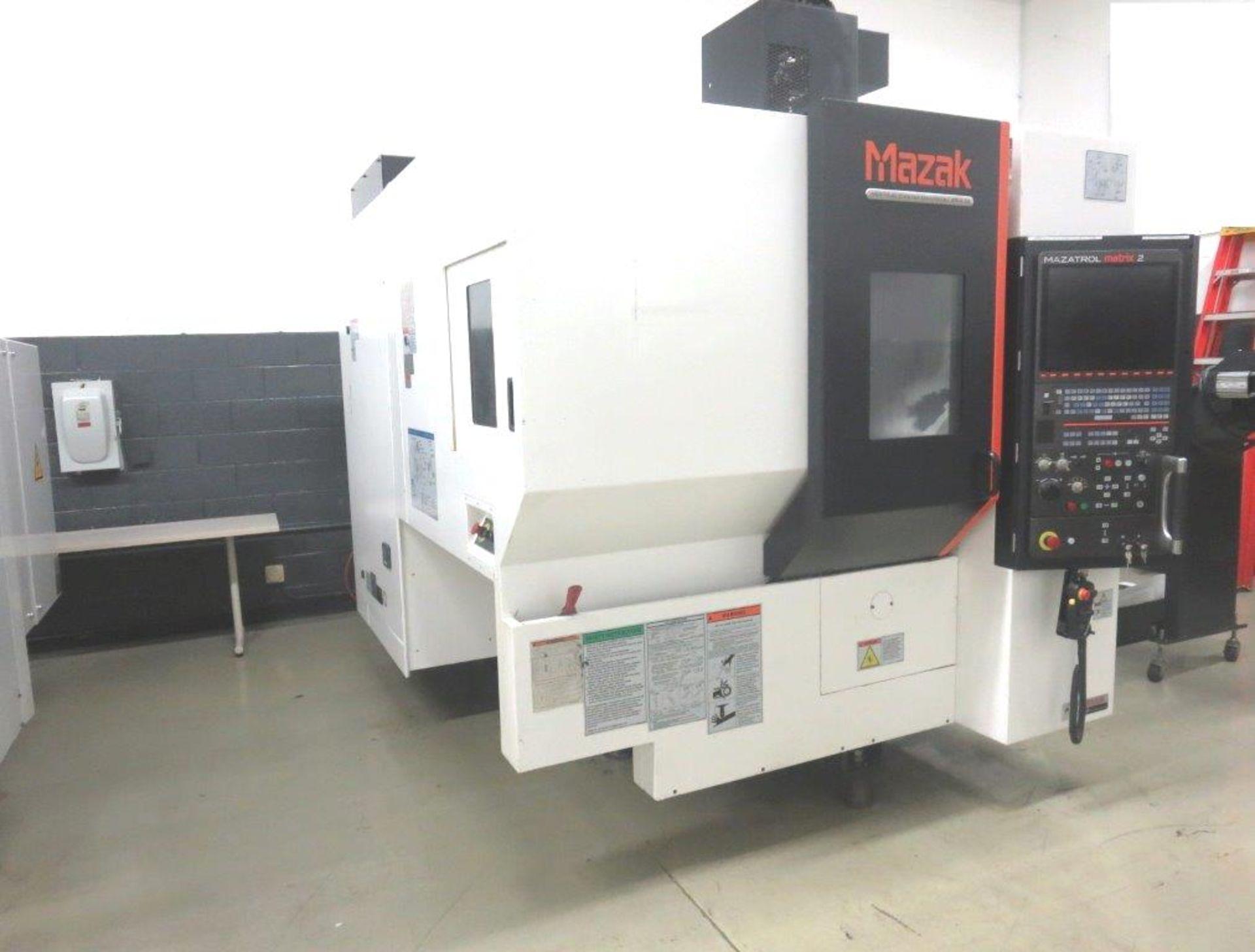 Lot 35 - Mazak VCU-400 5X CNC 5 Axis Vertical Machining Center