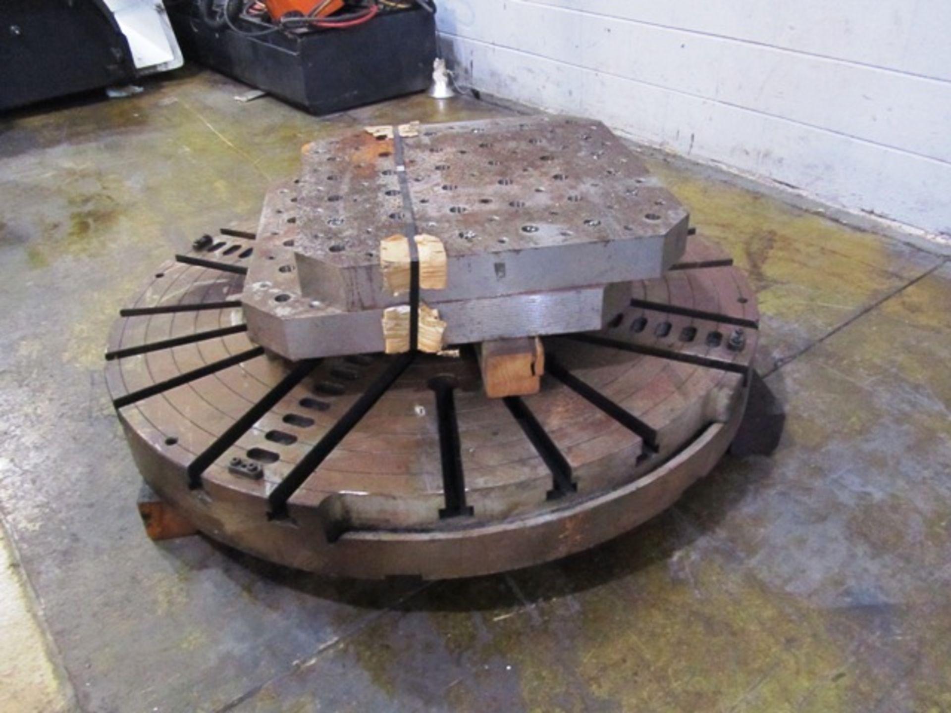 Lot 12 - Mazak A-12 Megaturn Face Plate