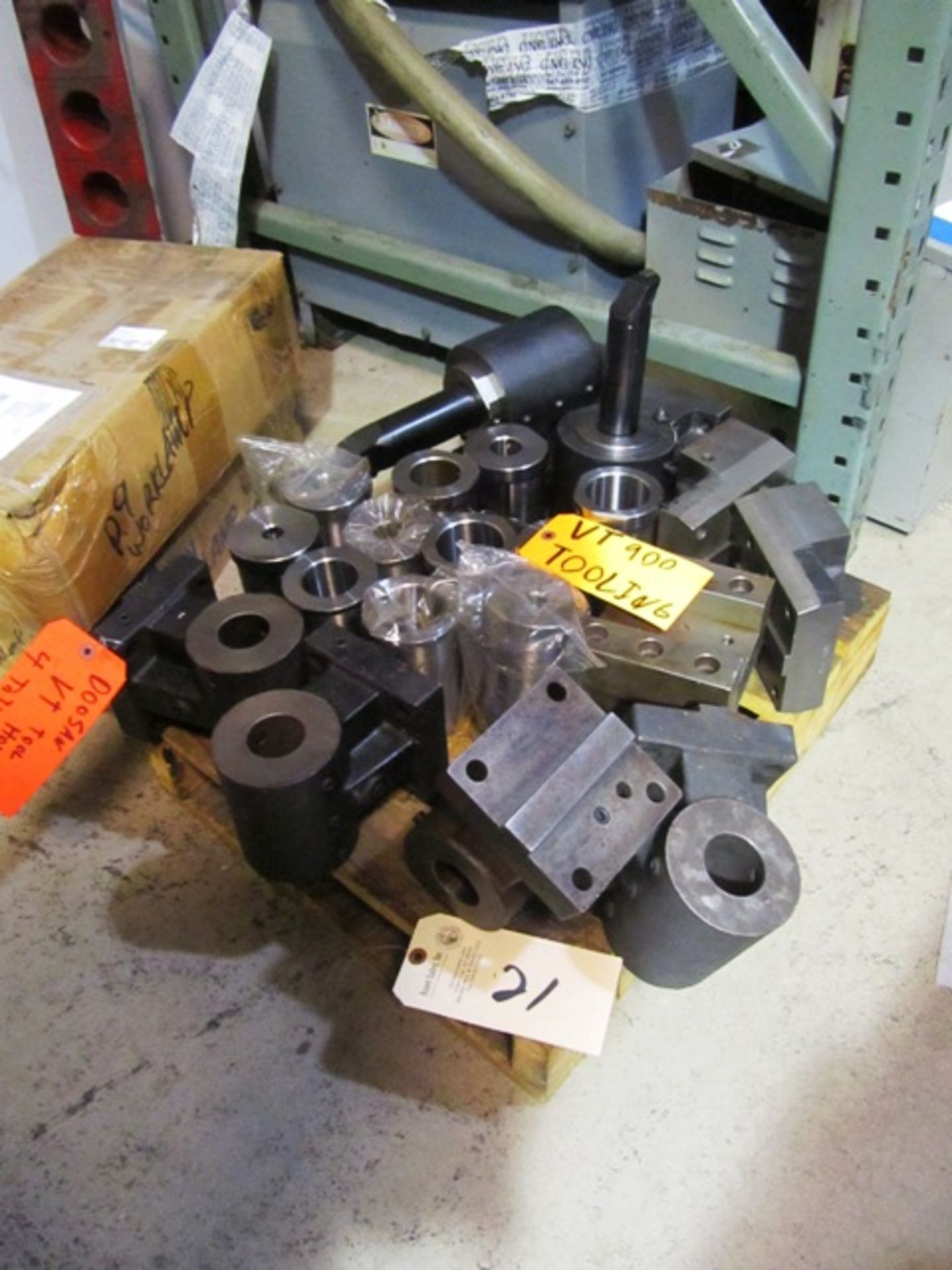 Lot 21 - Assorted Tooling