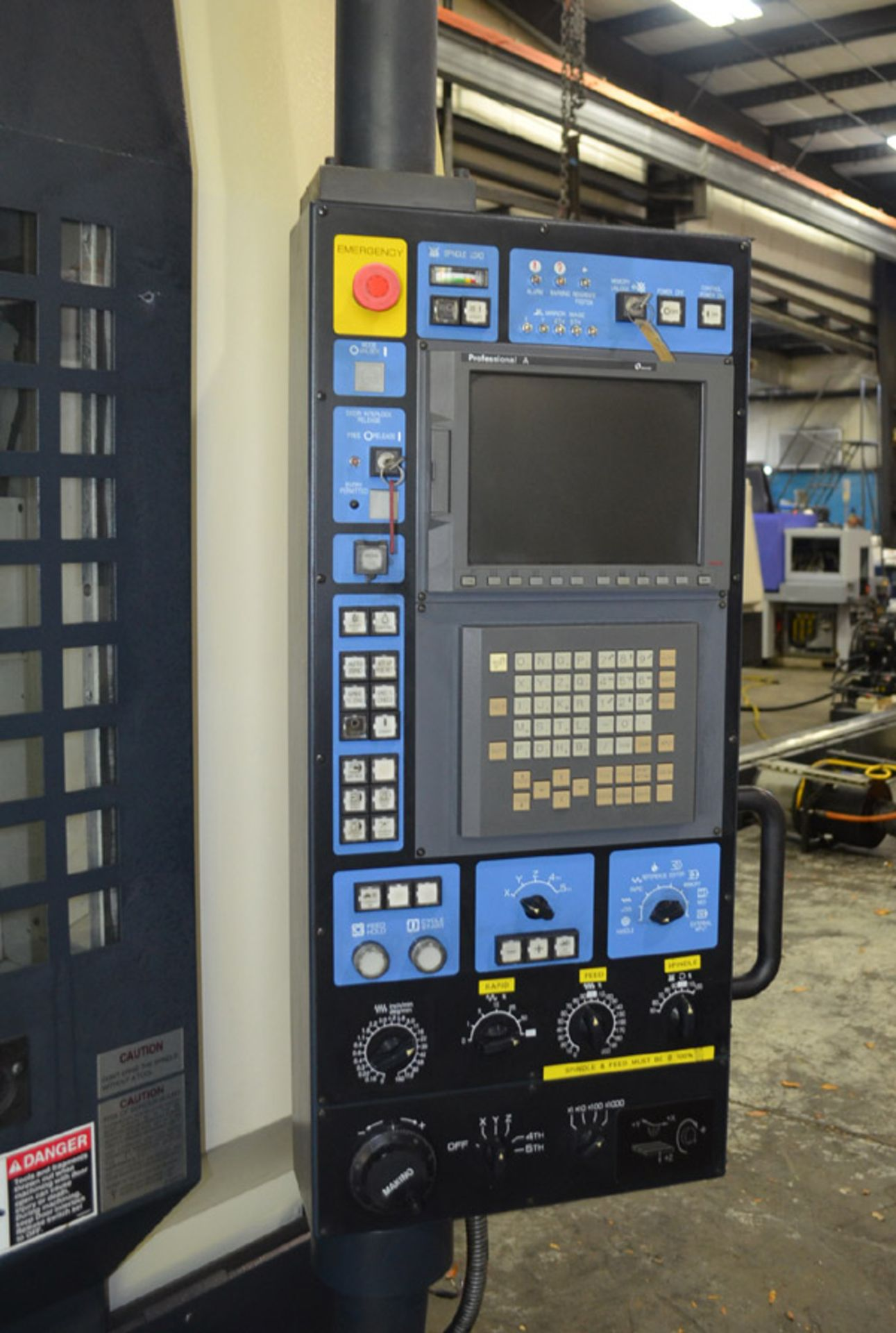Lot 28A - Makino SNC64 High-Speed CNC Vertical Machining Center