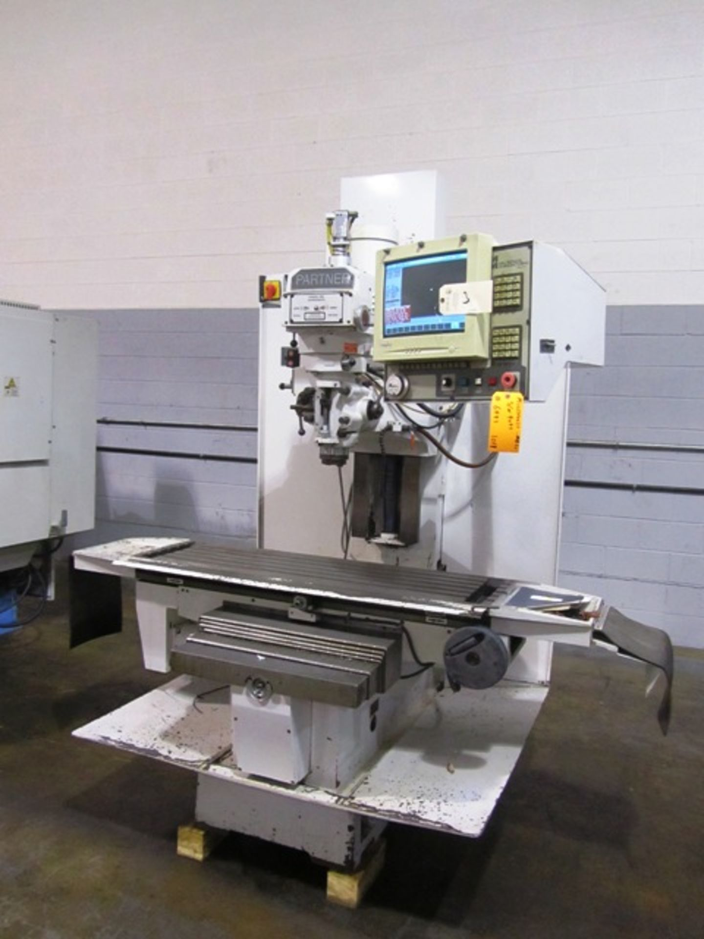 Lot 3 - Milltronics Partner Model MB 20 3-Axis CNC Milling Machine