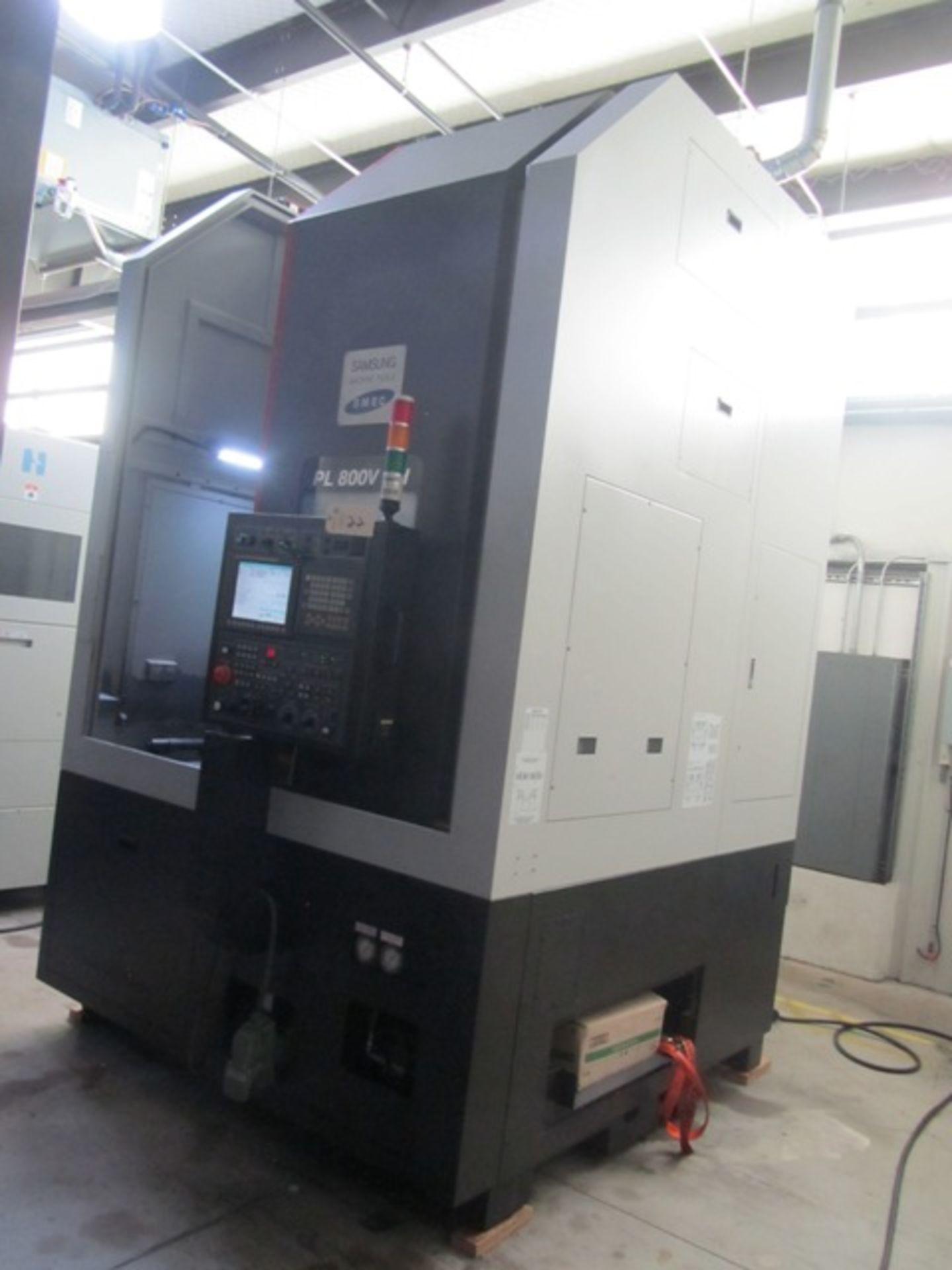 Lot 22 - Samsung PL800V CNC Vertical Turning Center