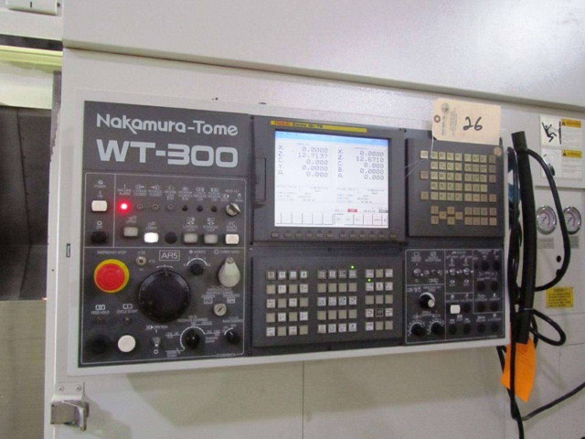 Lot 26 - Nakamura WT300MMY Multi Turret Tasking Center