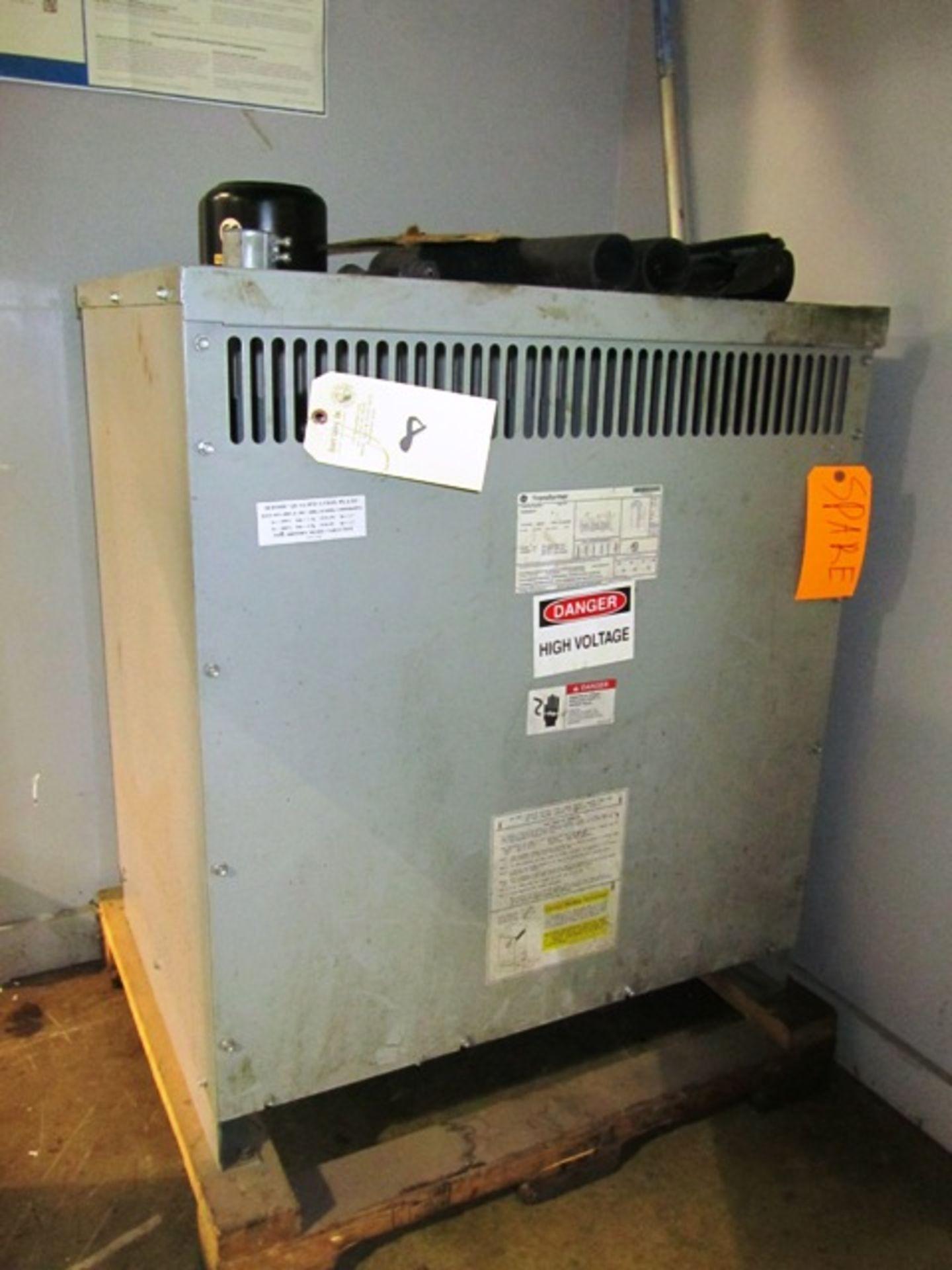 Lot 8 - G.E. Type QL 75 KVA 3 Phase Transformer