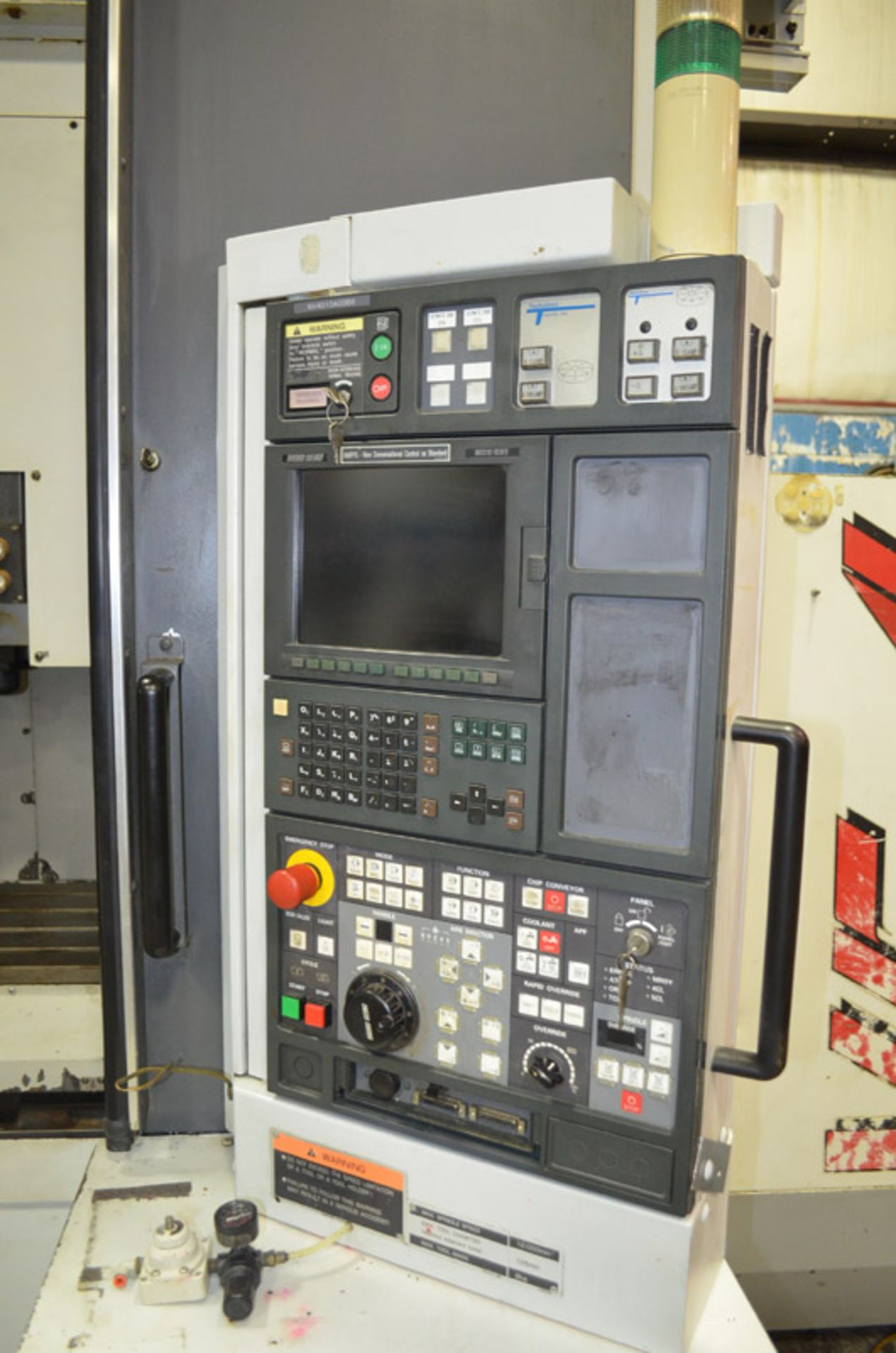 Lot 17 - Mori Seiki NV4000 CNC Vertical Machining Center Wired for 4th/5th Axis