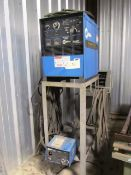 Miller Shopmaster 300 CC/CV AC/DC Welding Power Source with Miller 24V Wire Feed