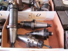 (4) CAT 40 Taper Tool Holders
