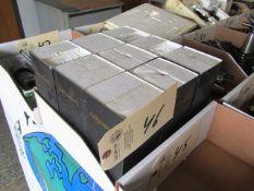 (9) Lyndex CAT 40 Taper Tool Holders (new)