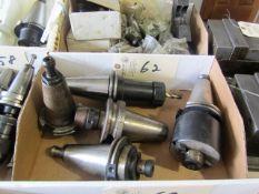(5) CAT 40 Taper Tool Holders