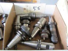 (8) CAT 40 Taper Tool Holders