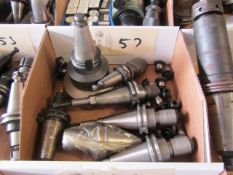 (7) CAT 40 Taper Tool Holders