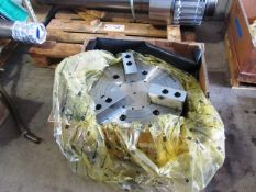 Samchully MH-221 21'' 3-Jaw Power Chuck with 6-1/2'' Bore (new)