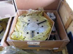 Samchully HCH 24'' 3-Jaw Power Chuck with 6-1/2'' Bore (new)